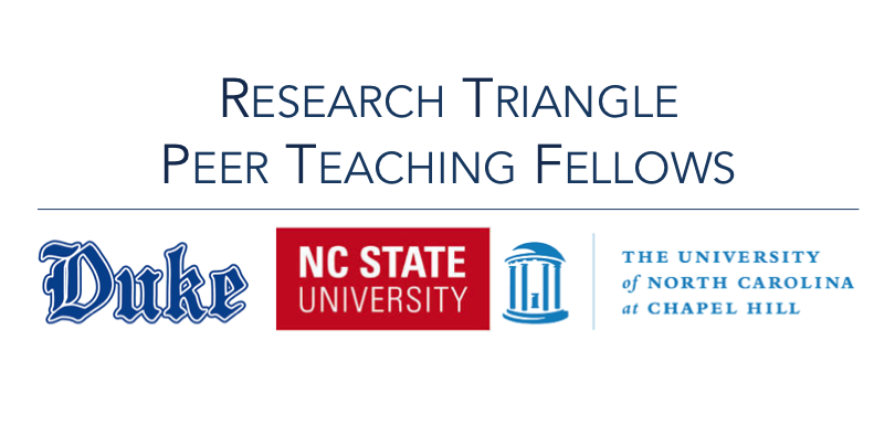 Research Triangle Peer Teaching Fellows